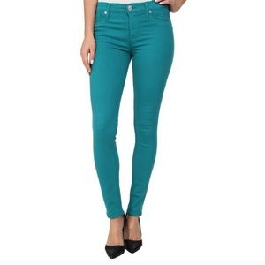 Hudson Jeans Nico Super Skinny Midrise 28 Blue